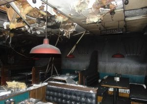 business interruption fire damage ri