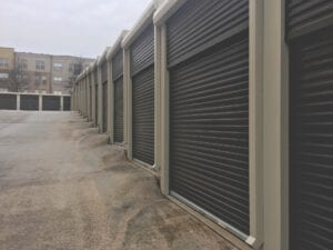 storage after property damage ri