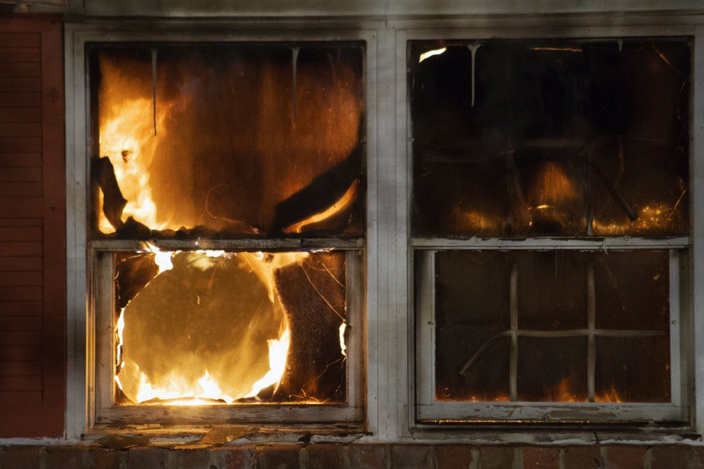 what to do after a fire in ri