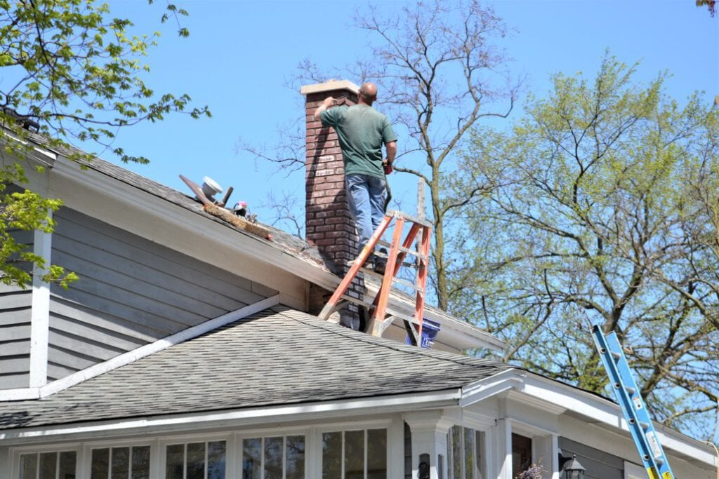 inspect and clean your chimney to prepare your house for the fall