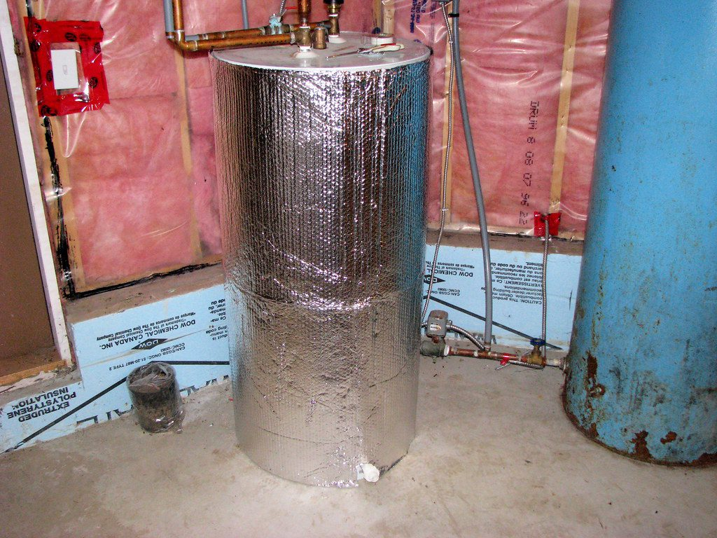wrap your water heater to save you money