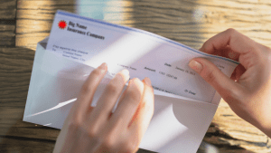 what to do with your insurance claim check