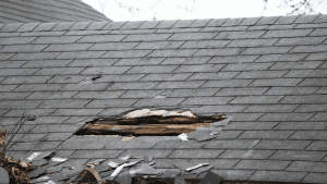 is roof leak damage covered by insurance
