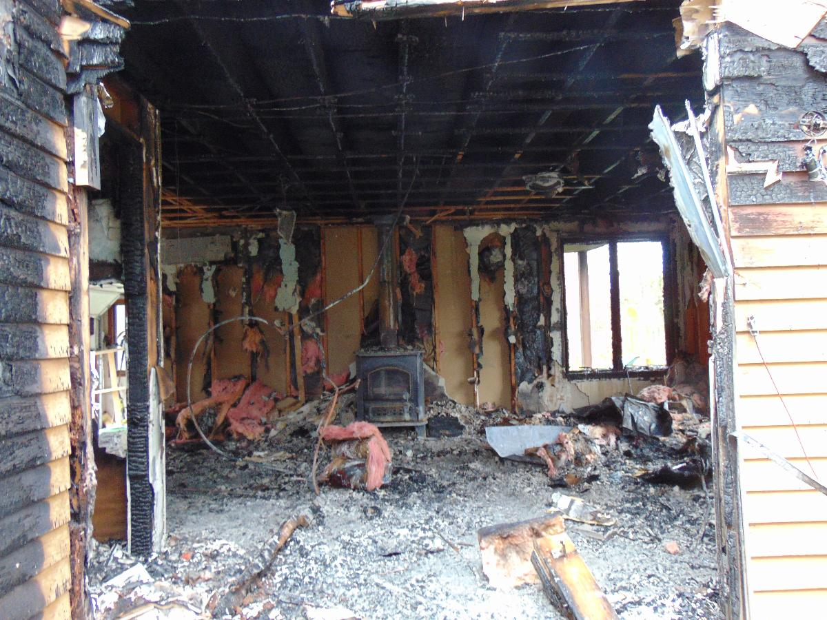 Fire Damage Cleanup Services