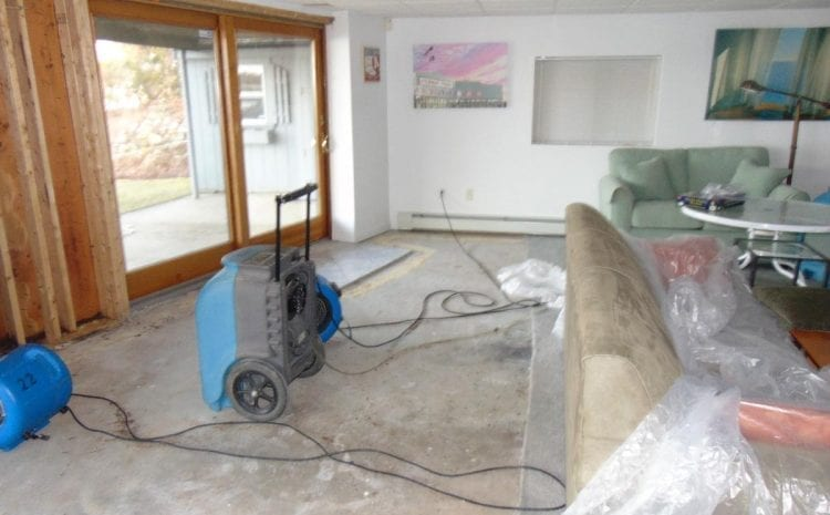Water Damage Cleanup - RI Restoration