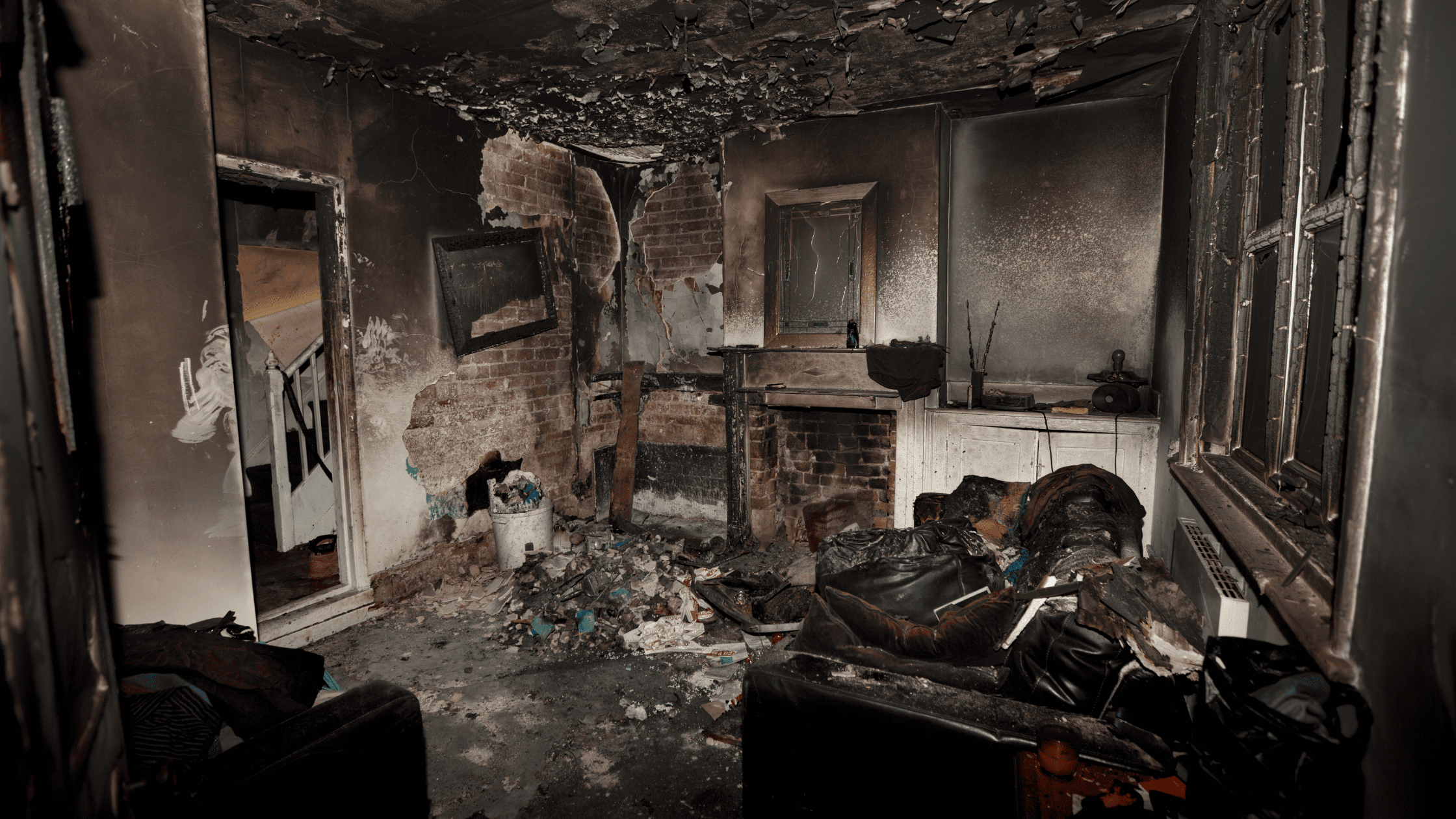 what should you throw away after a fire