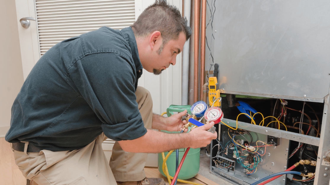 checking the wiring in your HVAC system is very important for maintenance purposes and ensuring a fire will not break out
