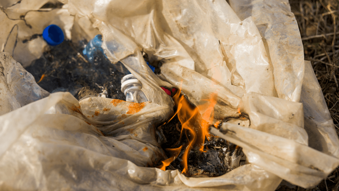 learn more about What Should You Throw Away After a Fire. Burning plastic due to fire damage