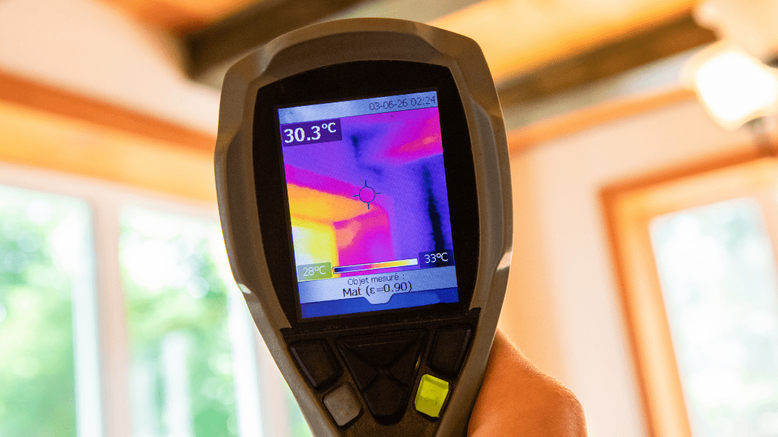 Indoor damp & air quality (IAQ) testing. For indoor air quality testing.