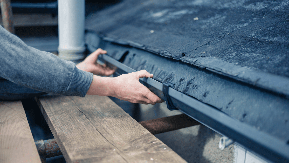 replacing and repairing damaged pieces of your gutter will help prevent water damage