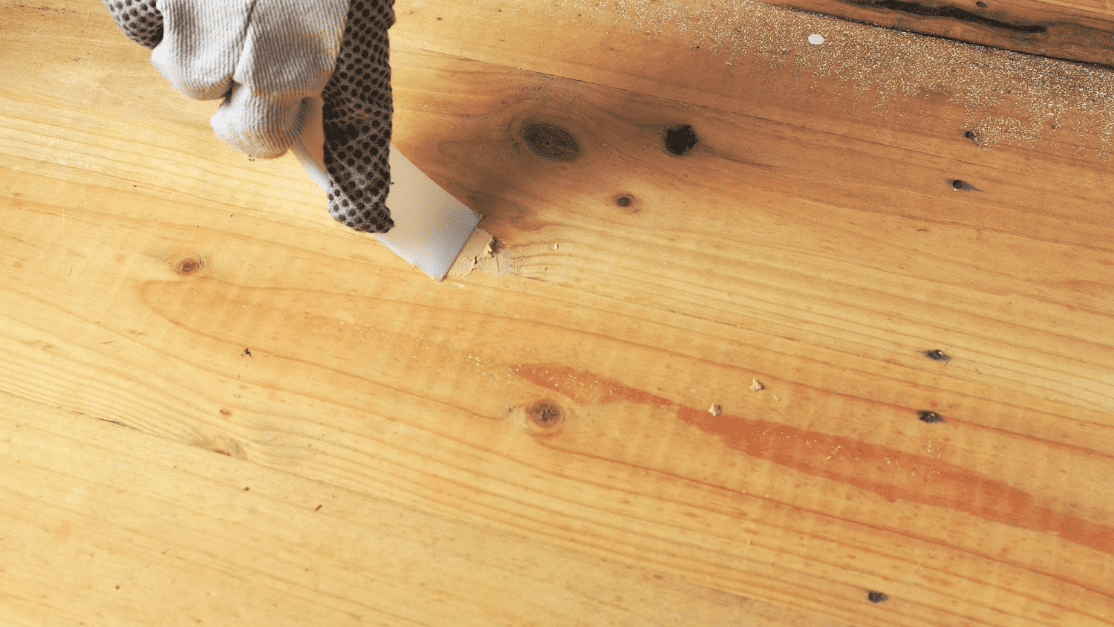 wood filler is very important for how to repair particle board water damage