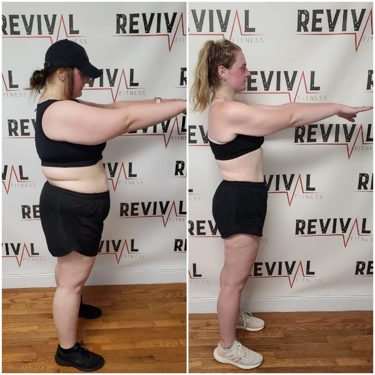 Weight Loss Transformation in girls