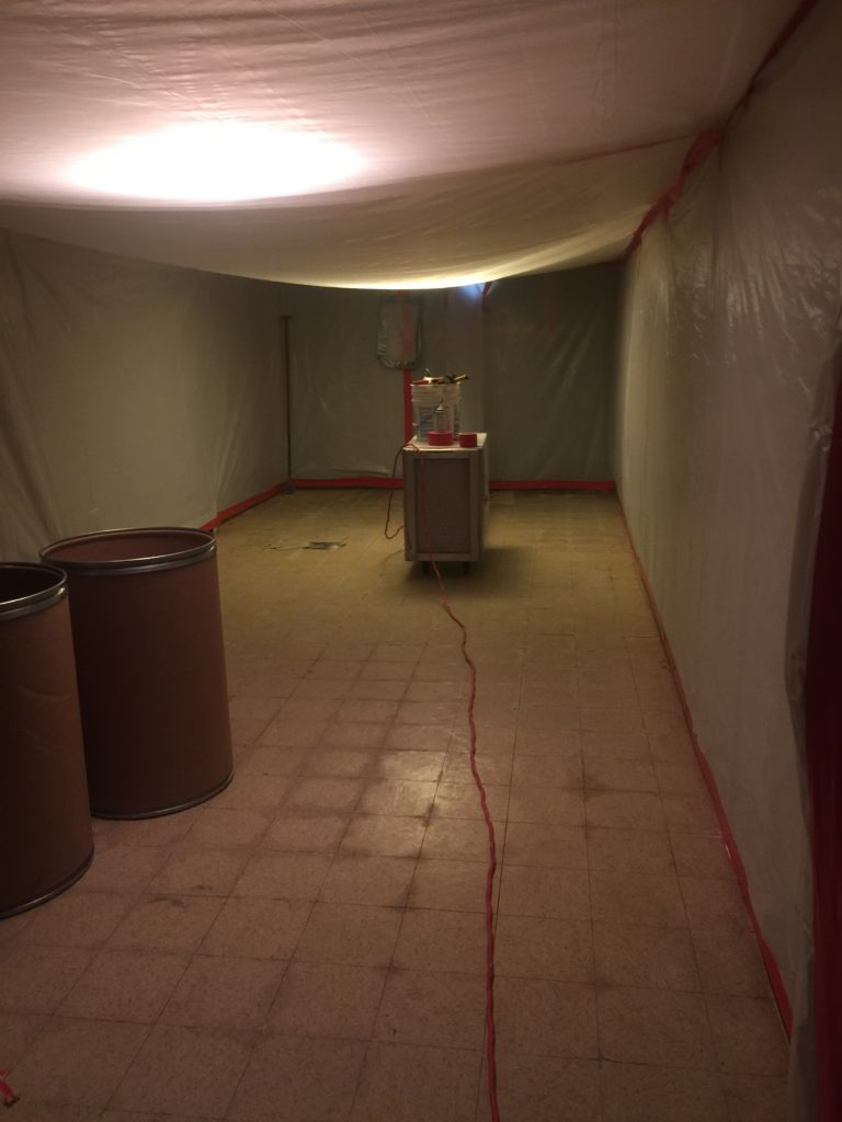 ASBESTOS FLOOR TILE AND MASTIC ABATEMENT - ATLANTIC ABATEMENT CORP