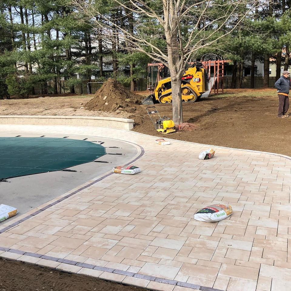 Residential patio and pool design & construction