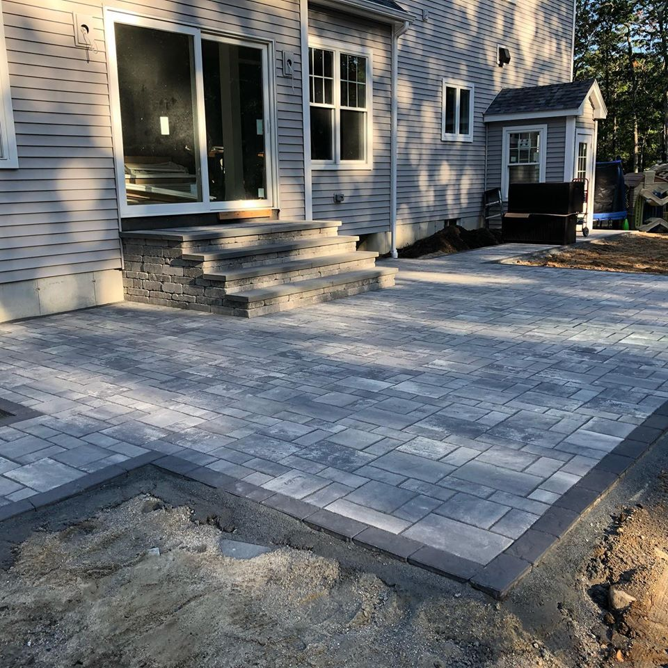 Residential patio construction