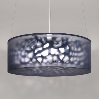 Lumetta Echo 44 inch Pendant in Echo Navy