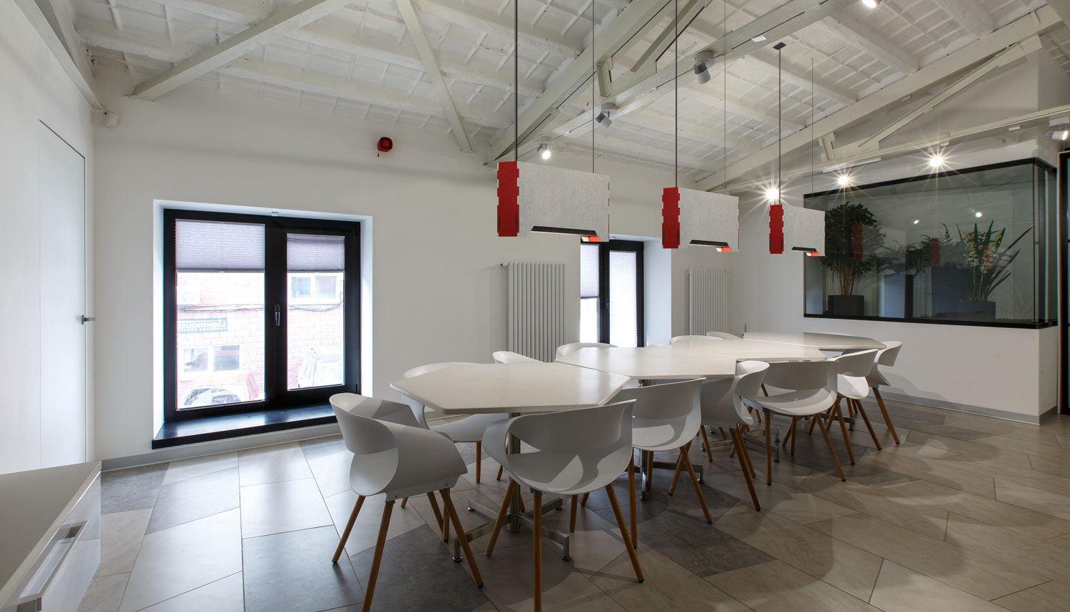 Link Acoustic; our newest lighting solution that immediately adds to and strengthens our designer Linear Acoustic Series.